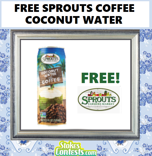 Image FREE Sprouts Coffee Coconut Water