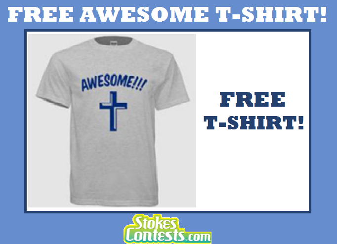 Image FREE Awesome T-Shirt!