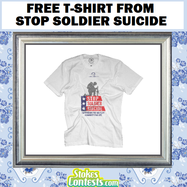 Image  FREE T-Shirt from Stop Soldier Suicide