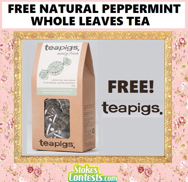 Image FREE NATURAL Peppermint Whole Leaves Tea