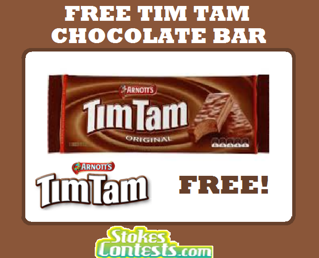 Image FREE Tim Tam Chocolate Bar