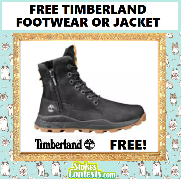Image FREE Timberland Footwear Or Jacket