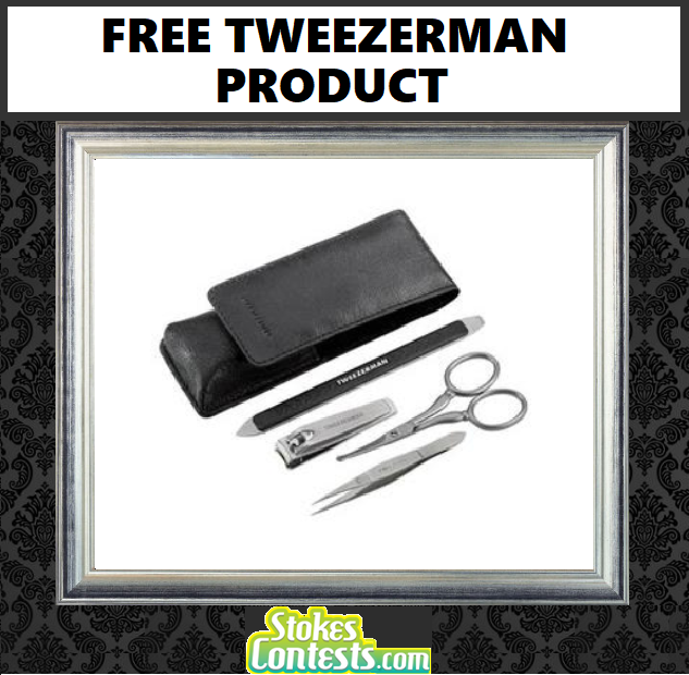 Image FREE Tweezerman Product
