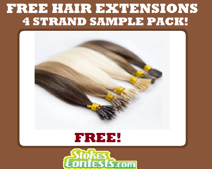 Stokes Contests Freebie Free Hair Extensions 4 Strand Sample Pack