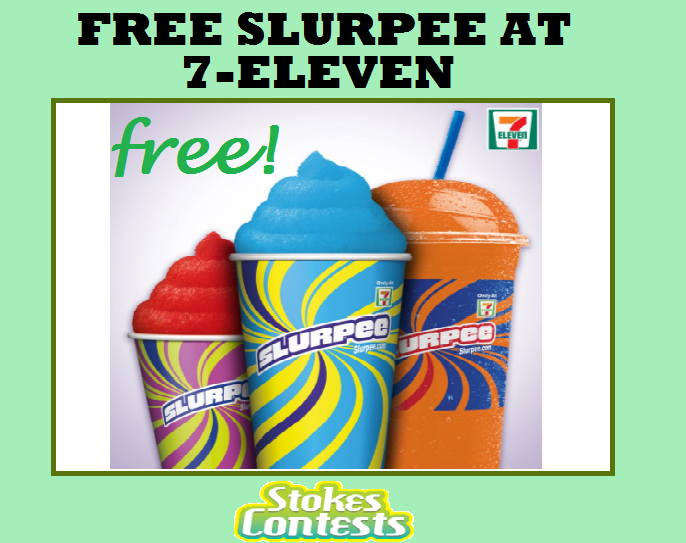 Image FREE 7-Eleven Slurpee! TODAY ONLY!!
