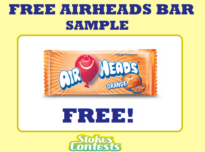 Image FREE Airheads Bars Sample.
