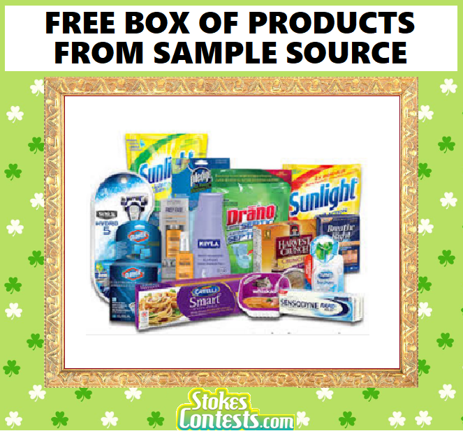 Image FREE BOX of Products from Sample Source