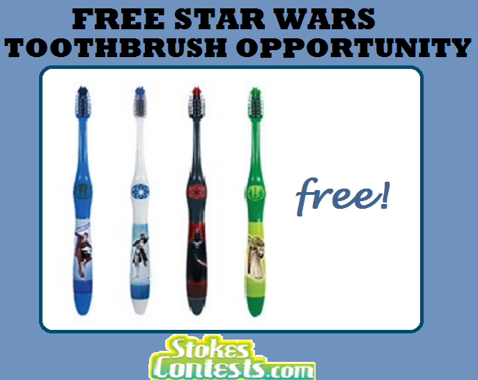 Image FREE Star Wars Toothbrush Opportunity! for UK Residents
