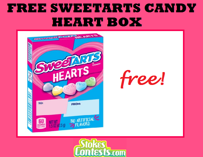 Image FREE SweeTarts Candy Heart Box @Mariano's TODAY ONLY!