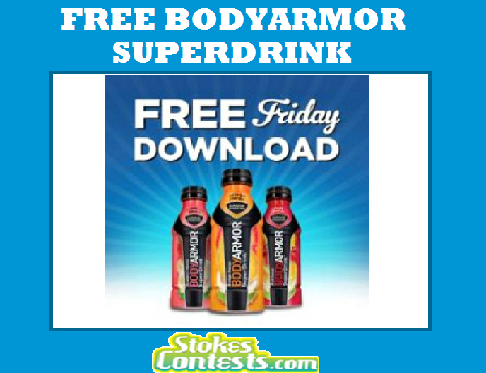 Image FREE BodyArmor SuperDrink TODAY ONLY!!