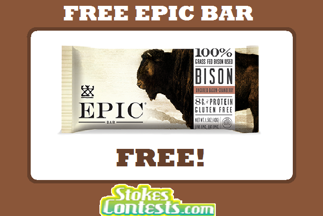 Image FREE EPIC Bar @Mariano's TODAY ONLY!