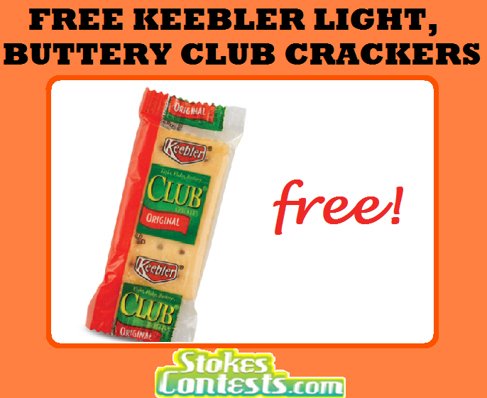 Image FREE Keebler Club Crackers.