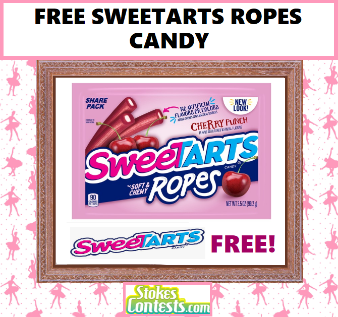 Image FREE SweeTARTS Ropes Candy TODAY ONLY!