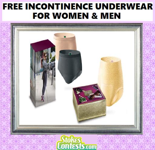 Image FREE Depends Underwear Sample Packs