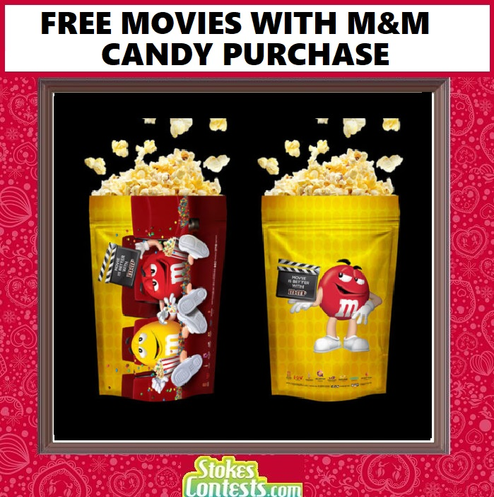 Image FREE Movies with M&M Candy Purchase