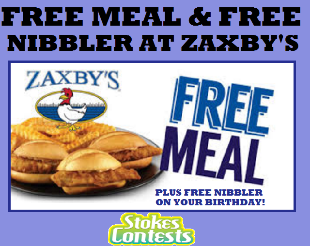 Image FREE Meal & Nibbler at Zaxby's